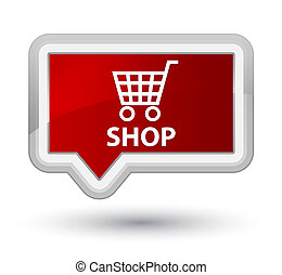 Shop prime red banner button