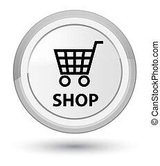 Shop prime white round button