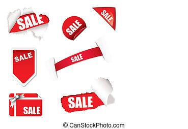 Shop sale elements