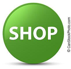 Shop soft green round button