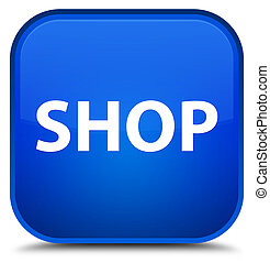 Shop special blue square button