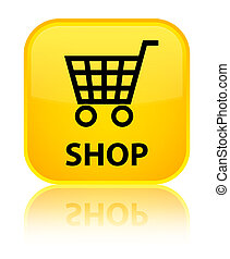 Shop special yellow square button