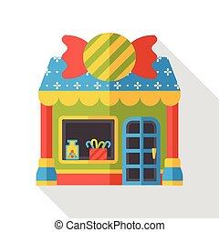 shop store flat icon