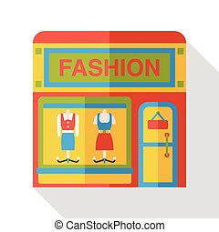 shop store flat icon