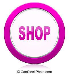 shop violet icon