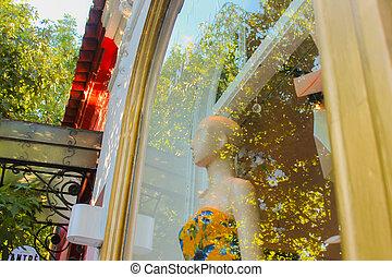 Shop Window Detail