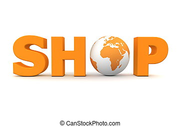 Shop World Orange