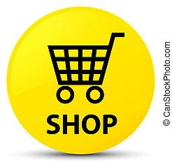 Shop yellow round button