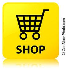 Shop yellow square button