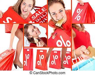 Shopaholic on sale