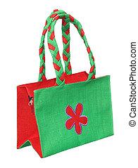 Shoping bag of jute fiber