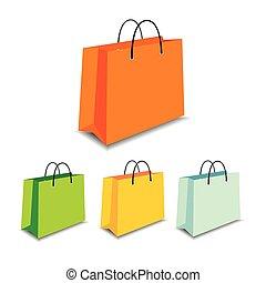 shoping vector bag