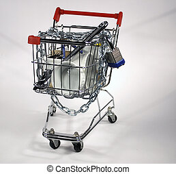 shoppen , bevestigen, kar