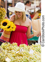 shoppen, markt