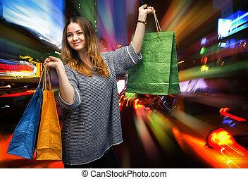 shoppen, neu , city., york