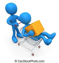 shoppen , samen