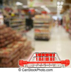 shoppen, Supermarkt