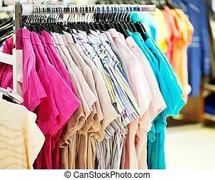 shoppen, t-shorts