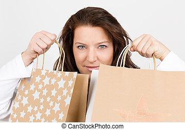 shoppen, weihnachten, glück