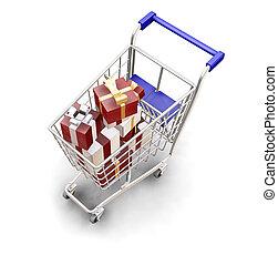 shoppen, weihnachten