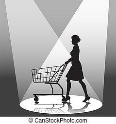 Shopper & Shopping Cart