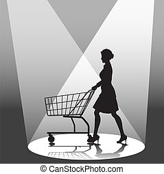 Shopper & Shopping Cart