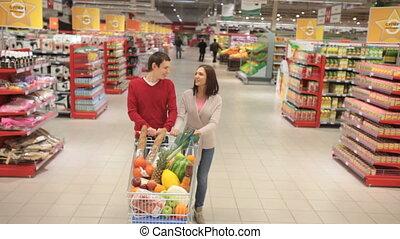 shoppers, передний план
