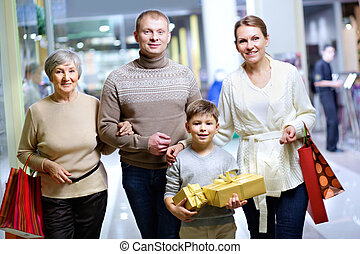 shoppers, famille
