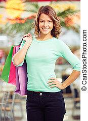 shopping, amante