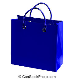 Shopping bag. 3D rendering.