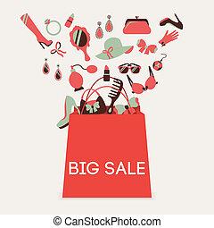Shopping bag big sale