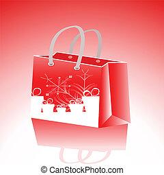 Shopping Bag Design - Vector