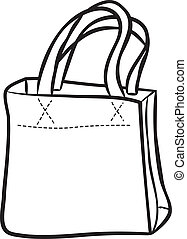 Shopping bag doodle