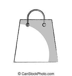 shopping bag isolated icon