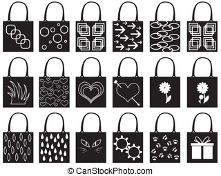 Shopping bag silhouette
