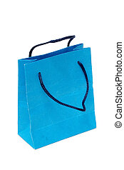 Shopping bag. With clipping path