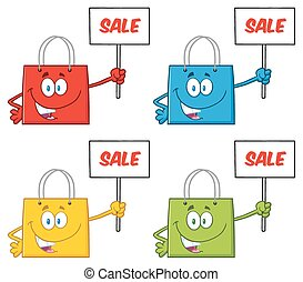Shopping Bags. Collection