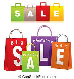 Shopping Bags - Shopping bags set.