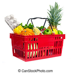 Shopping basket.