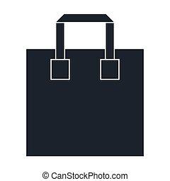 shopping big bag icon