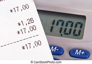 Shopping Bill with Calculator