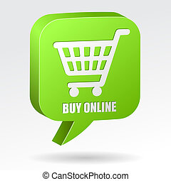 shopping, borbulho fala, online