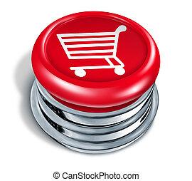 shopping, bottone