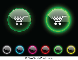 Shopping button.