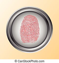 Shopping by Touch, ID, Fingerprint scan Access