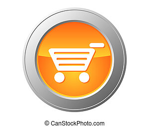 Shopping cart button