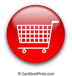 Shopping cart button