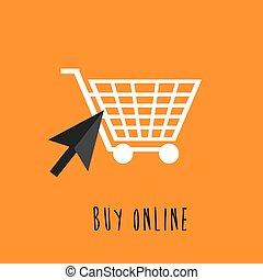 Shopping cart, buy online