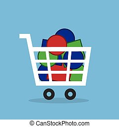 Shopping Cart Full Of Objects