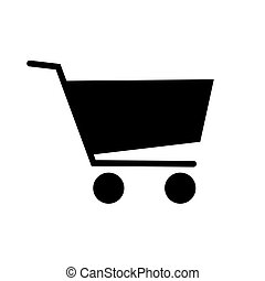 Shopping cart icon . Template for your design